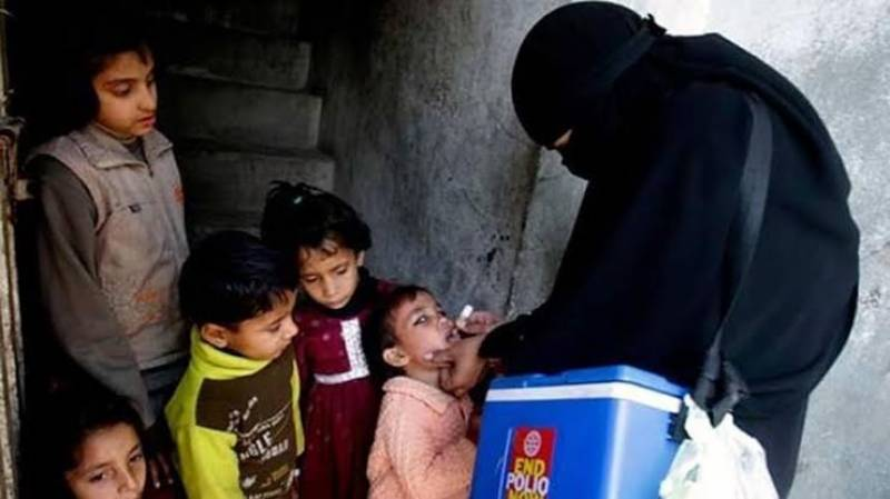 Three-day anti-polio drive begins in KP, Sindh