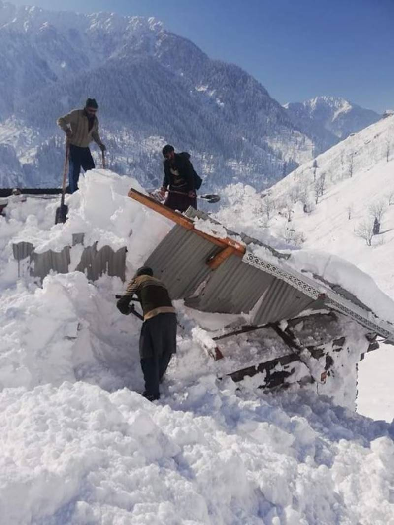 Neelum Valley avalanche incident:Death toll rises to 73