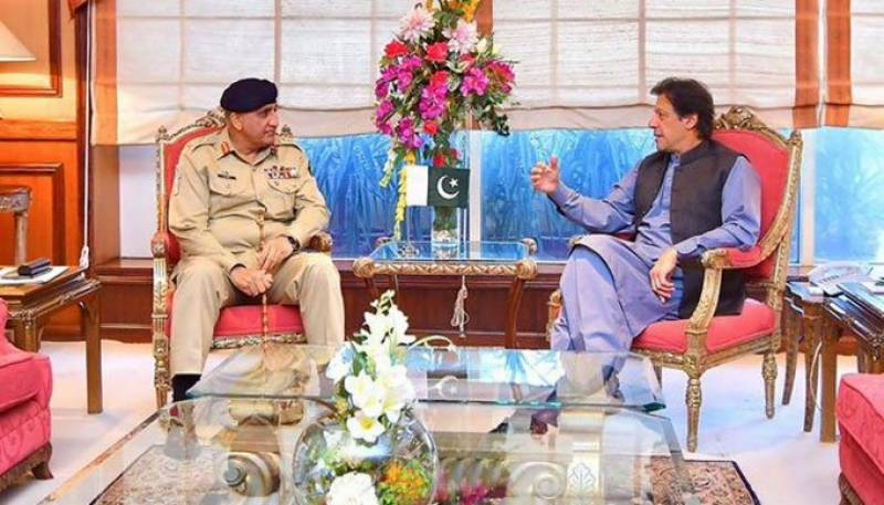 COAS Bajwa calls on PM Imran to discuss national security