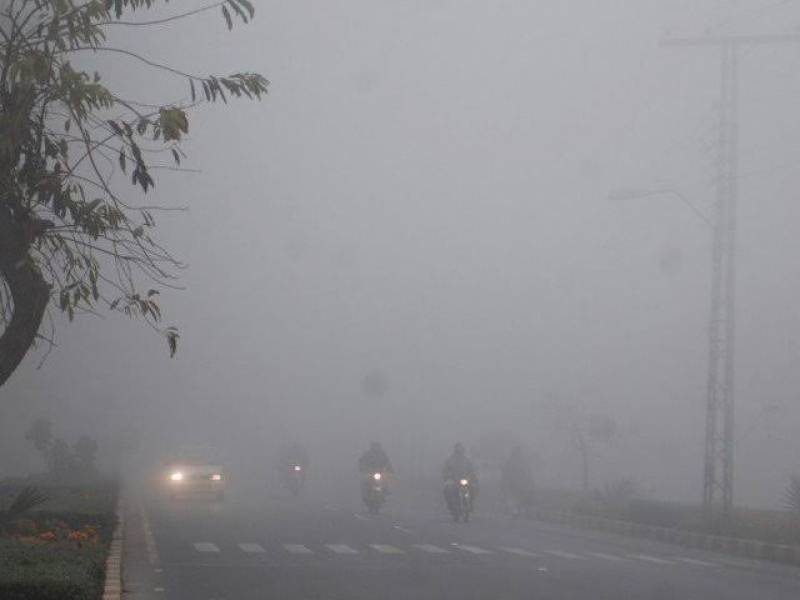 Motorway sections closed after heavy fog hits parts of Punjab