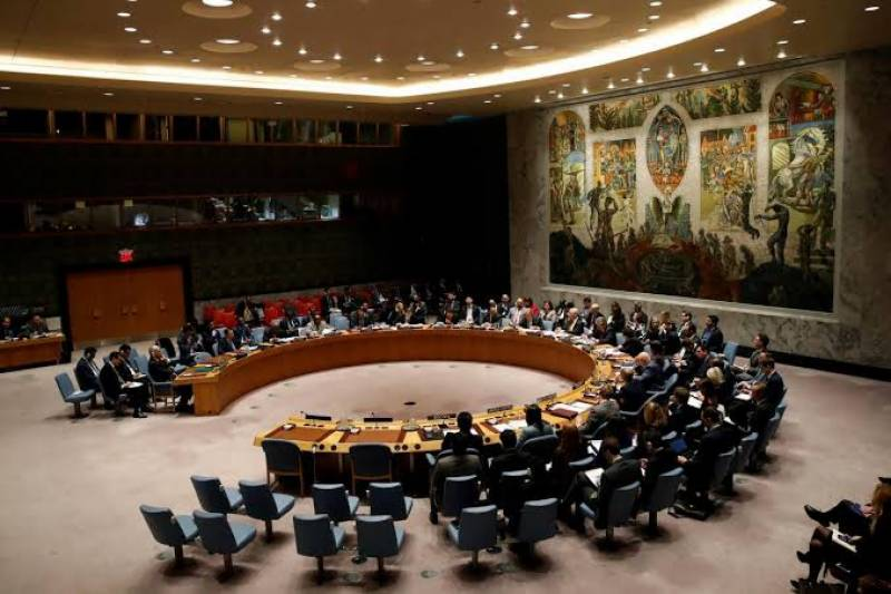 UNSC hold closed doors meeting to discuss grave situation in Indian occupied Kashmir