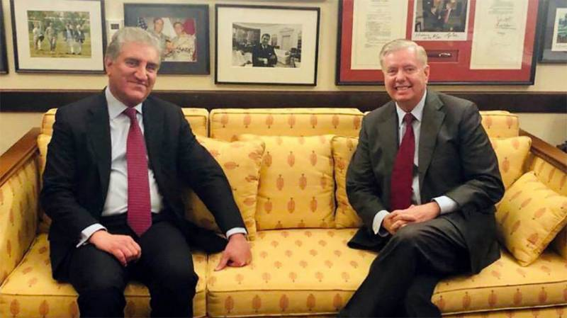 FM Qureshi, US Senator Lindsey Graham discusses Pak-US bilateral issues and regional situation