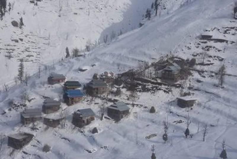 AJK snowfall: Neelum, Leepa, Bhedi declared calamity-hit areas