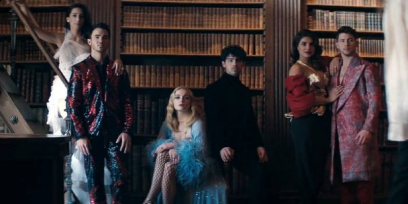Jonas Brothers drop new video featuring their wives