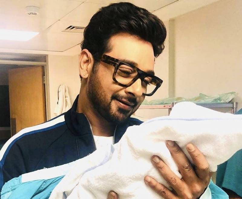 Faysal Quraishi blessed with a baby boy