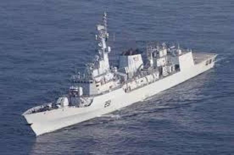 Pakistan Navy ships MOAWIN, ASLAT visit Port Victoria