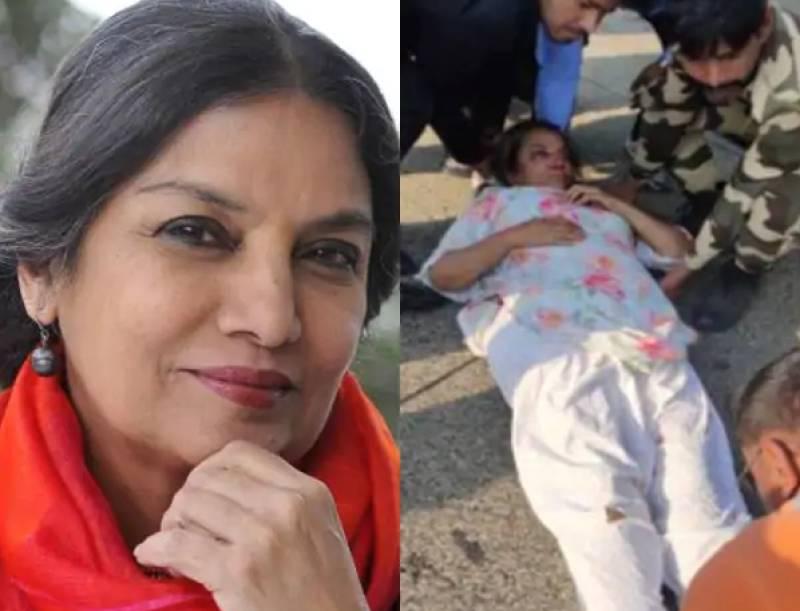 Bollywood actor Shabana Azmi injured in road accident