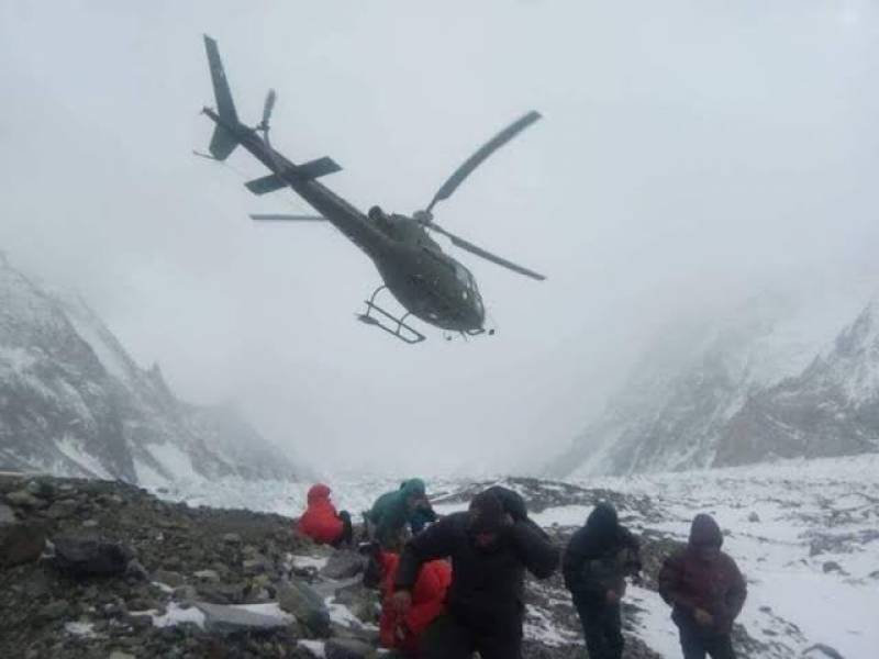 Pakistan Army airlifts 22 LUMS students trapped in Gilgit snow