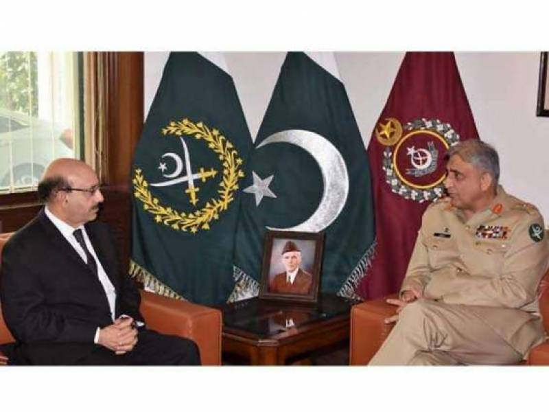 Pakistan's Army Chief meets AJK President to discuss Kashmir situation
