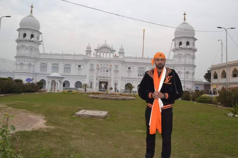 Gippy Grewal visits Gurdwara Nankana Sahib