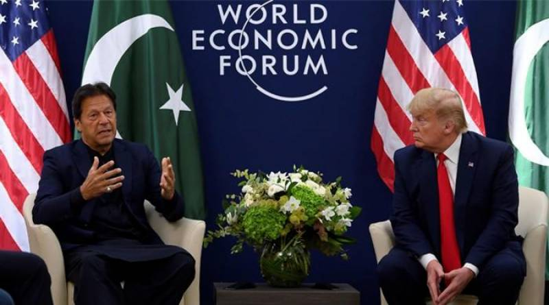 Will talk to India's Modi on Kashmir issue, Trump tells PM Imran in Davos meeting