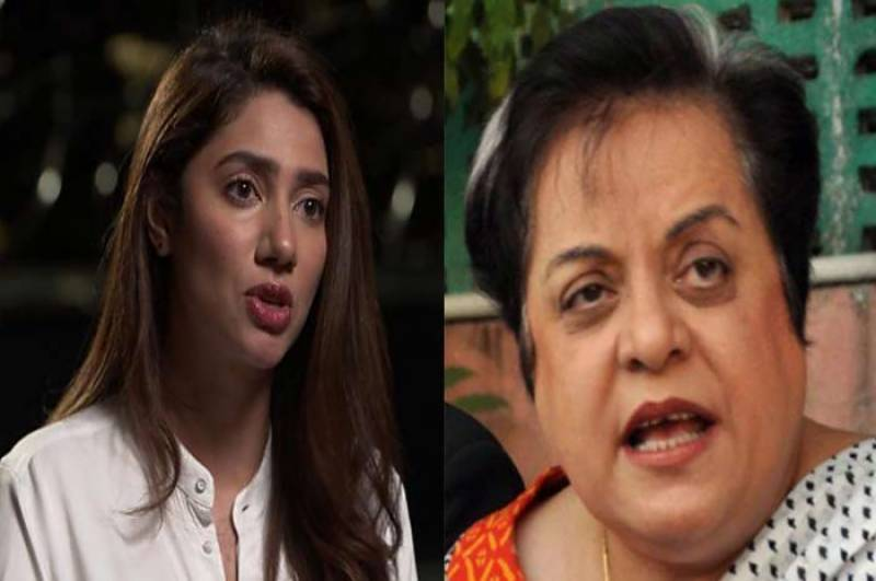 Mahira Khan asks Shireen Mazari for an update on the Zainab bill