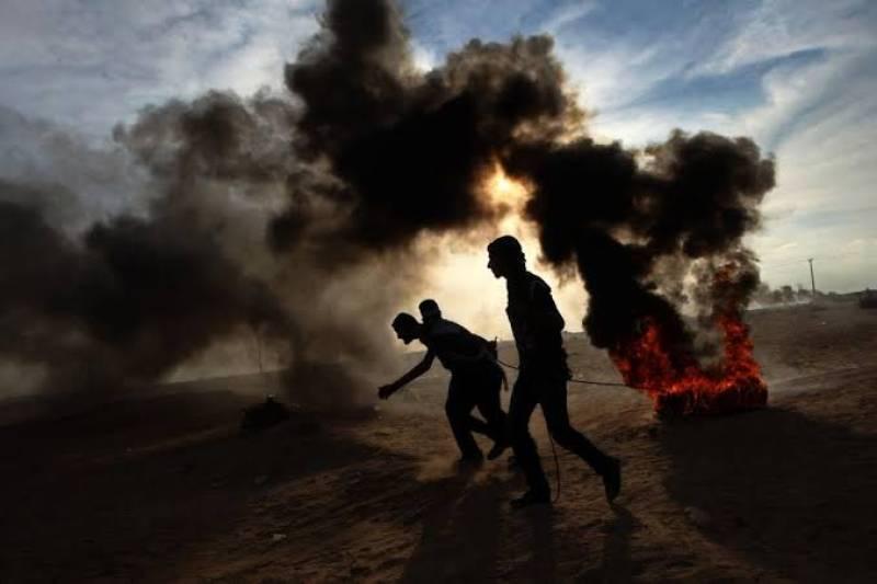 Israeli troops kill three Palestinian youth near Gaza border