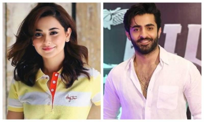 Sheheryar Munawar, Hania Aamir gear up for an upcoming film