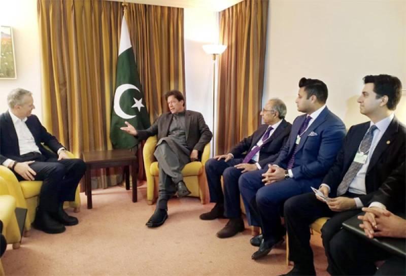 WEF 2020: PM Imran meets Coca-Cola CEO in Davos
