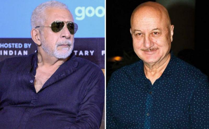 I'm sorry I take none of what you said seriously: Anupam Kher hits back at Naseeruddin Shah