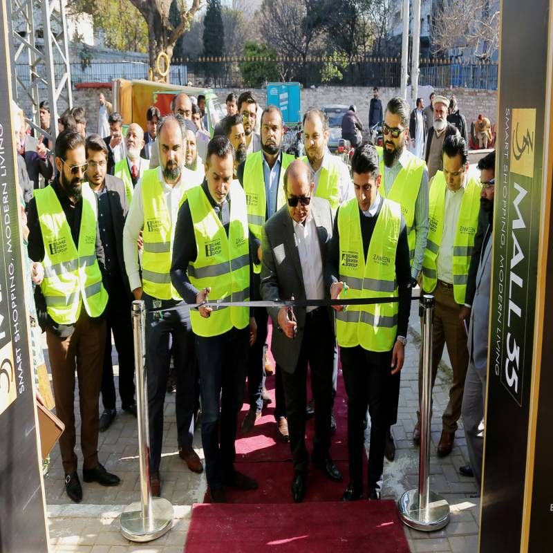 Zameen Developments lays foundation stone Mall 35 in Rawalpindi