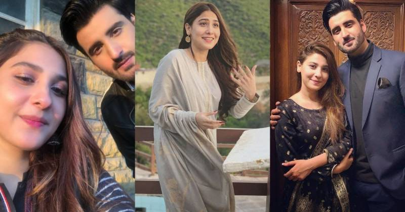 Agha Ali reacts to rumours with Hina Altaf