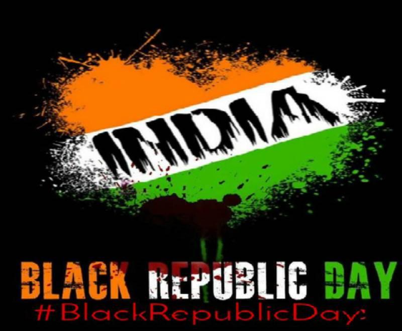 Kashmiris observe Indian Republic Day as Black Day