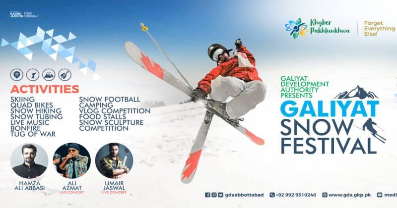 Three-day snow festival to kickstart at Galyat from Jan 31