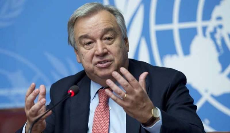 UN chief 'sad' over deadly earthquake in Turkey