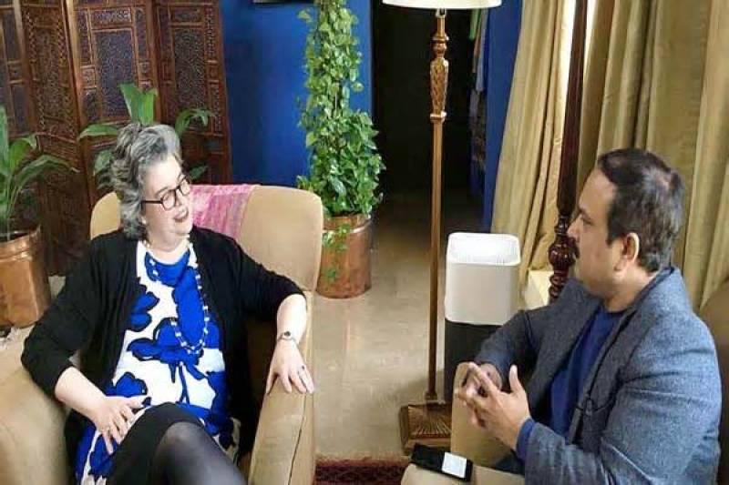US consulate Lahore to start visa service; says CG Katherine Rodriguez