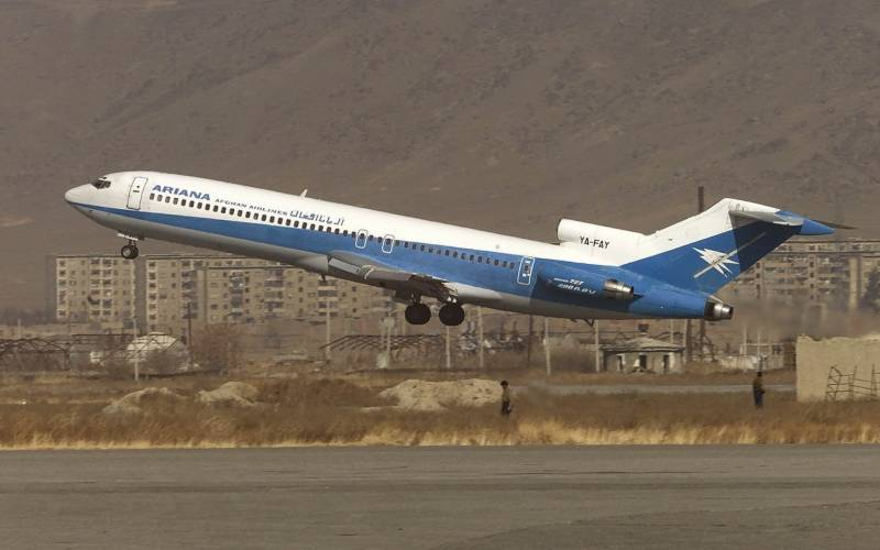 Passenger plane 'carrying 83 people' crashes in Afghanistan