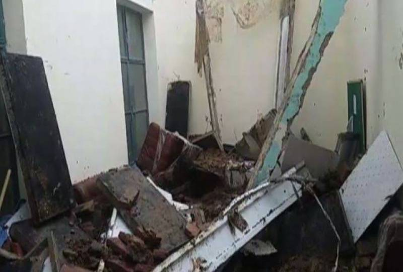 Roof collapse incident kills three of a family in Jhang