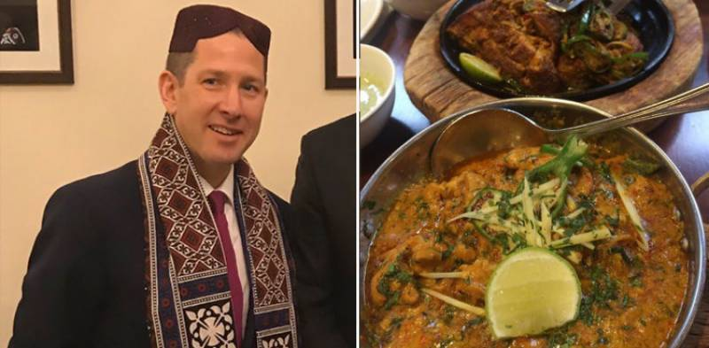 This British Envoy is in love with Pakistani food and Urdu
