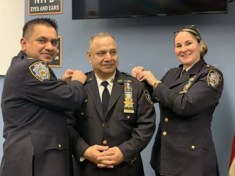 Pakistani man gets top post in New York police's volunteer force