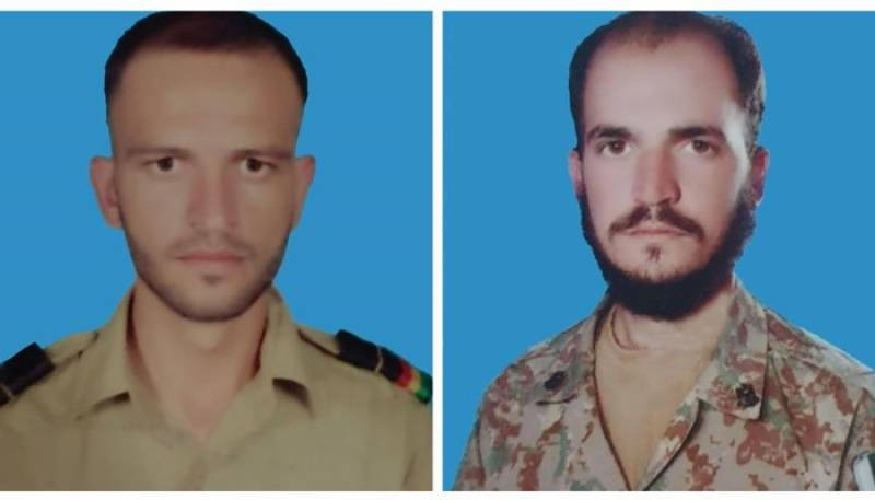 Two soldiers martyred in exchange of fire with terrorists in North Waziristan: ISPR