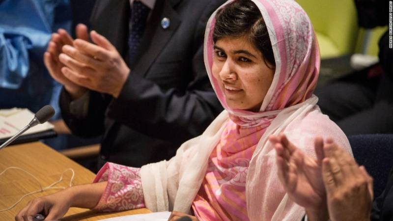 Malala joins global activists in urging world leaders to 'tackle emergency facing people and planet'