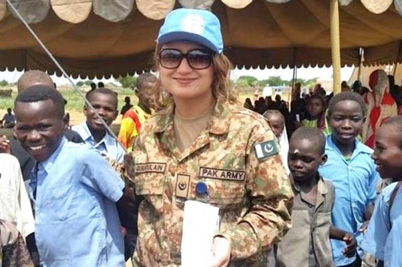 UN awards Pakistan's first-ever all-female peacekeeping team in Congo