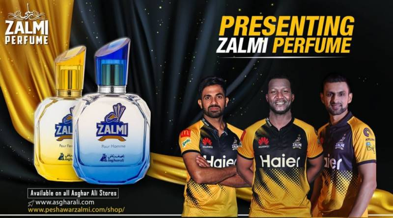Peshawar Zalmi becomes first PSL franchise to launch a perfume