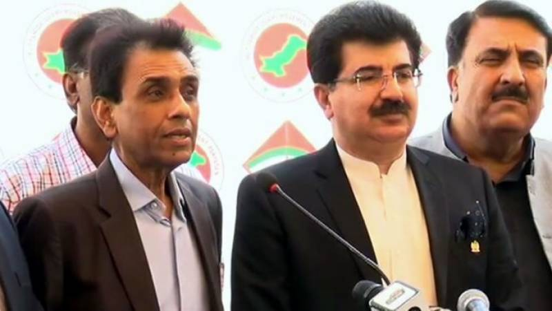 Senate Chairman in Karachi to woo back MQM-P