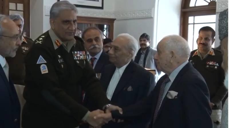 COAS Bajwa pays tribute to 1st PMA Long Course veterans