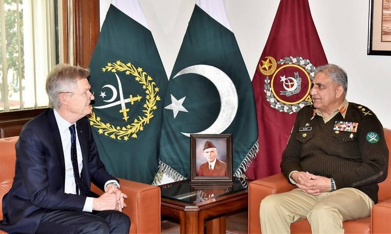 Rotary Int'l team call on Pakistan Army chief