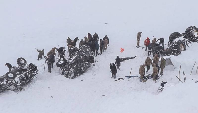 At least 23 killed in Turkey avalanche: officials