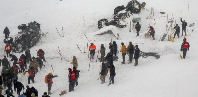 Pakistan condoles with Turkey over deadly avalanche