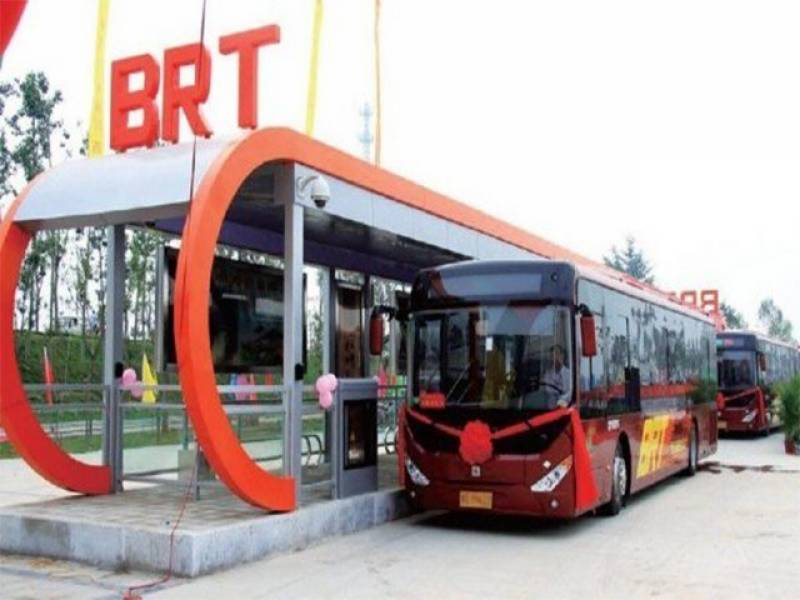 PTI minister announces opening date for much-delayed Peshawar BRT project