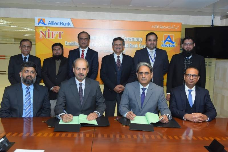 NIFT signs agreement with Allied Bank for digital financial services