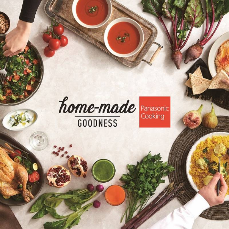 Panasonic celebrates fresh & healthy cooking with 'Home-made Goodness' campaign