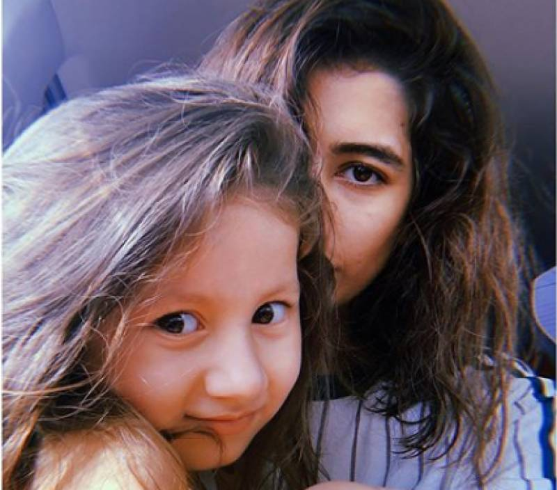 Syra Shahroz shares daughter Nooreh's picture on Instagram and we love it!