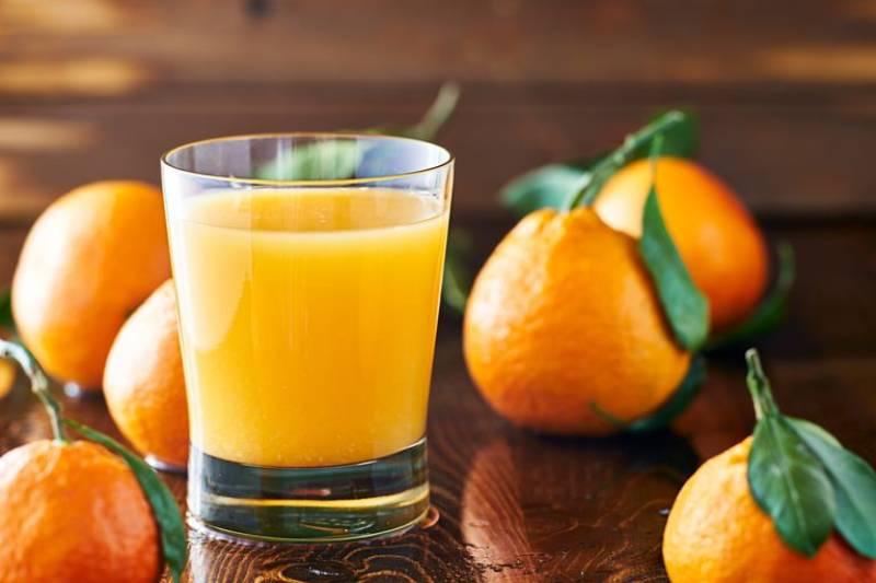Top five impressive benefits of Orange juice