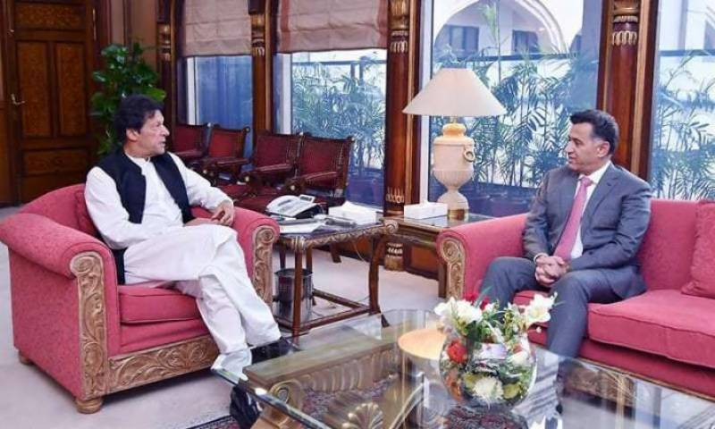 DG ISI, CPEC Authority chairman call on PM Imran