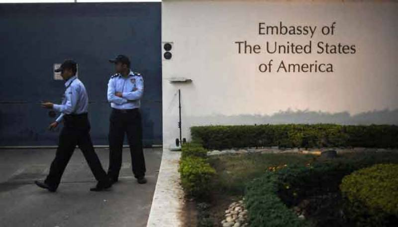 Indian man charged with raping five-year-old girl at US embassy in New Delhi