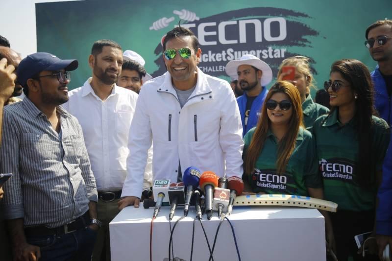 TECNO real-time cricket challenge hits Karachi University Grounds