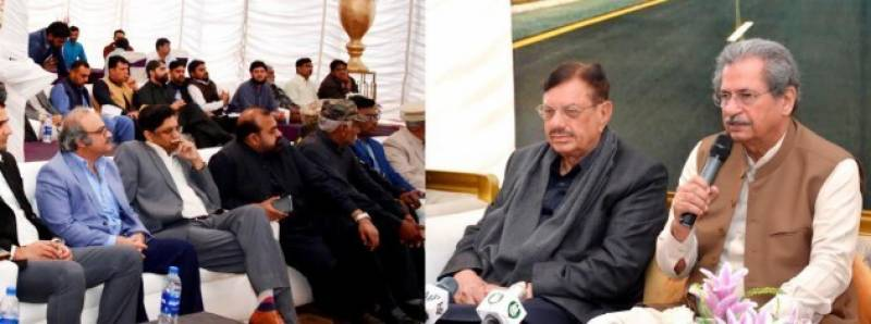 PTI's Shafqat Mahmood inaugurates Lahore Eastern Bypass