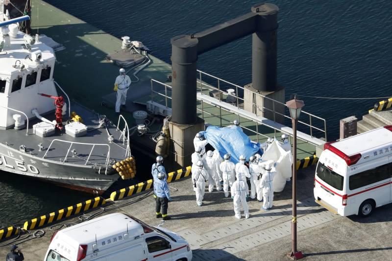 Coronavirus outbreak: Three more cases recorded on board of ship off Japanese coast