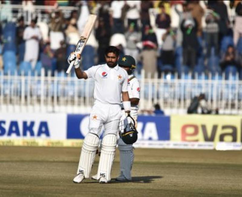 Pakistan continue domination in first Test as Babar, Shan hit tons